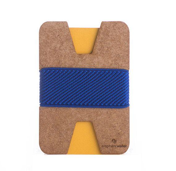 Unisex wallet thin wallet credit card holder modern wallet by ElephantWallet | Etsy