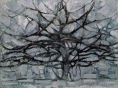 Piet Mondrian: Gray Tree