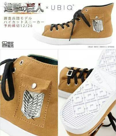 Want some Attack on Titan shoes