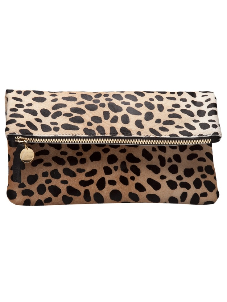 The perfect leopard clutch