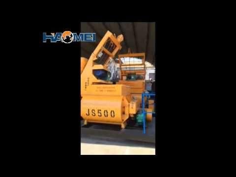 Haomei concrete mixers factory visit video