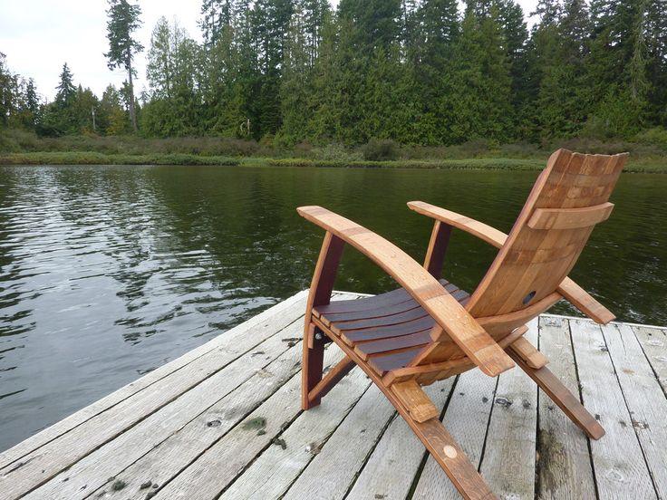 Adirondack Chairs – ReWined Barrel Creations