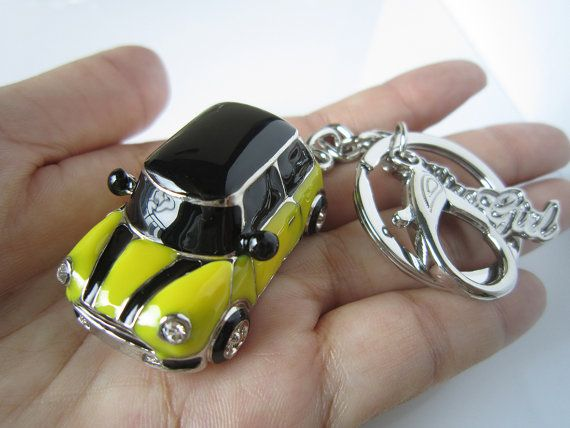 Christmas Gifts yellow mini car Personality by KLcarDesign