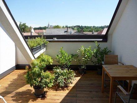 Kleine Dachterrasse