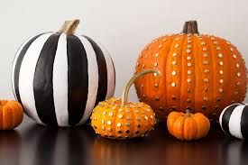 Image result for pumpkin decorating ideas no carving
