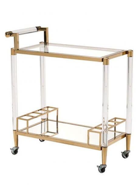 Best Of Clear Acrylic Bar Cart