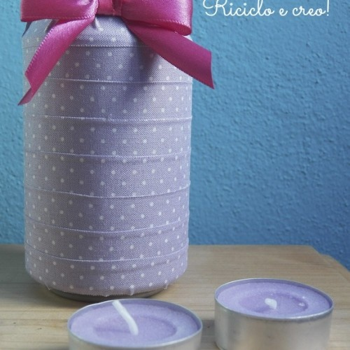 Idee di riciclo: la lattina decorata con il washi tape