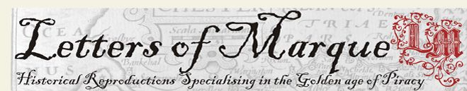 Letters of Marque - purveyors of fine piratical recreations!
