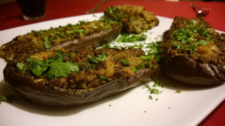 Eggplant with egg from the oven http://bit.ly/Recipe4share