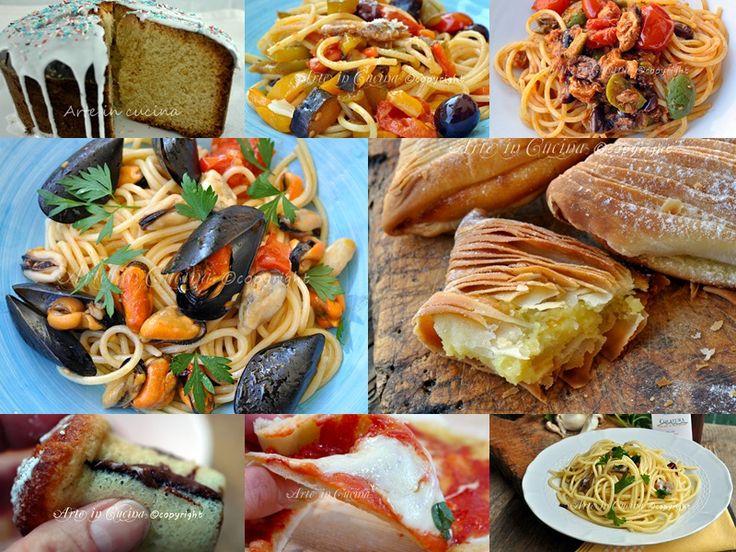 Ricette napoletane piatti regionali tradizionali vickyart arte in cucina