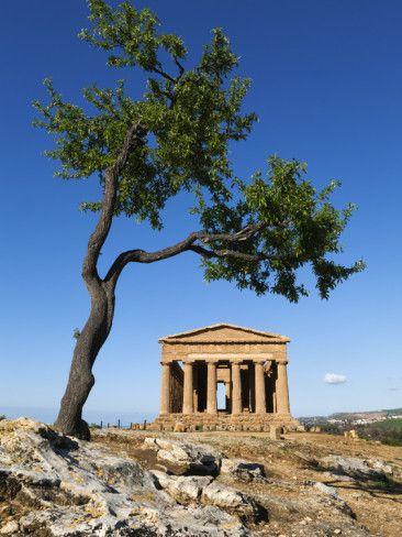 Tempio Di Concordia, Agrigento Italy Sicily