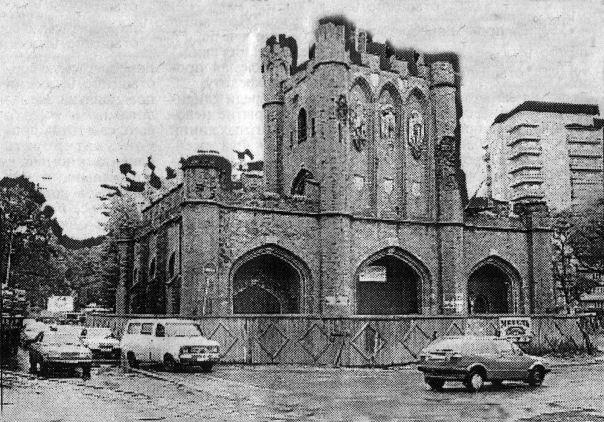 ТК | ФОТОФАКТ | Королевские ворота, 90-е #Калининград, #история, #историческиекадры