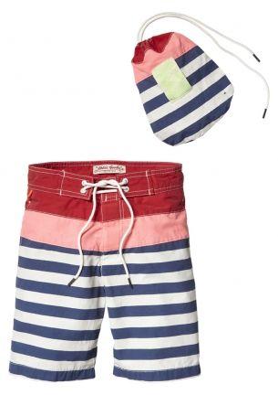 Scotch Shrunk Midlength Colourblock Swimshort bij Eb & Vloed Lifestyle #kidswear