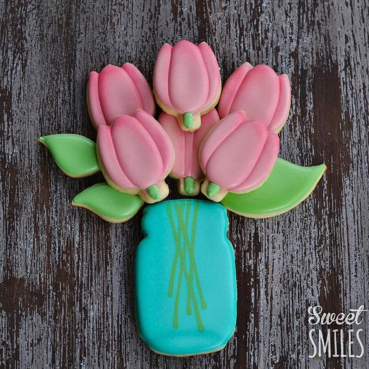 Jar of Tulips | Cookie Connection