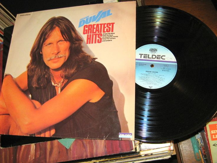 Frank Duval ‎- Greatest Hits GER 1986 Lp nm more mint