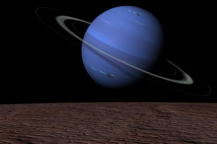 As luas de Netuno