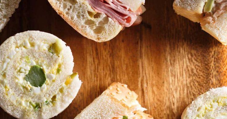 Sandwichs mortadelle et poire Recettes | Ricardo