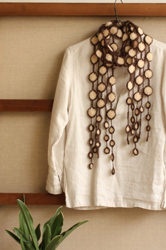 crochet scarf by CresusArtisanat
