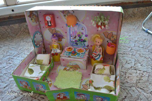 Самодельный кукольный домик с конюшней. | Страна Мастеров