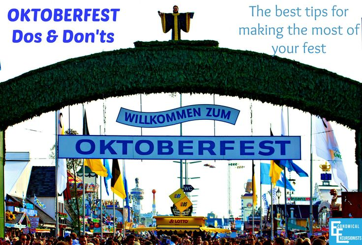 Oktoberfest Tips  Dos and Dont's