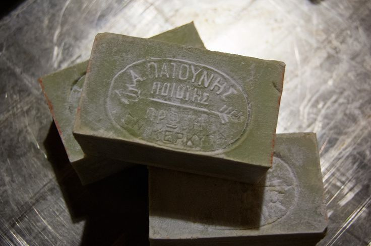 Patounis Greek olive oil soap made in Corfu Greece
