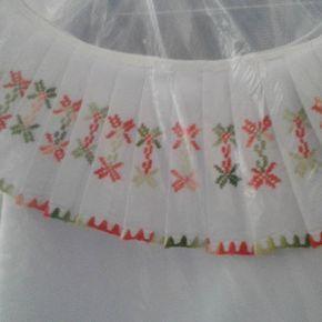 Un modelo mas camisola con arandela plisada