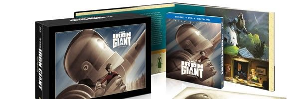 Cult favorite animated film 'The Iron Giant' is finally being released in both a regular release and a deluxe Blu-Ray boxed set this fall!