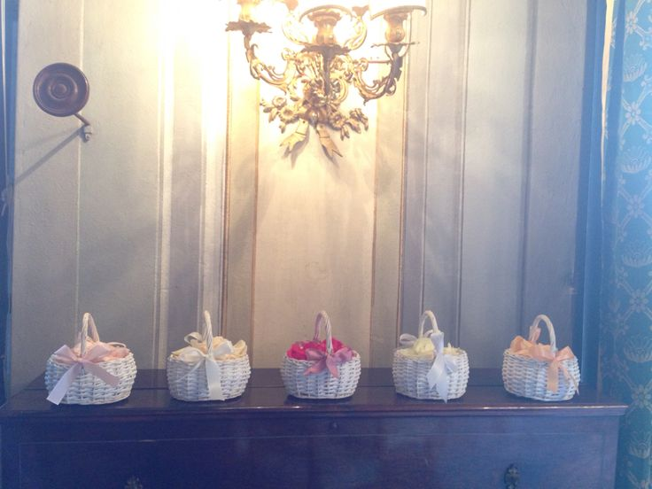 Little baskets http://blancricevimenti.it