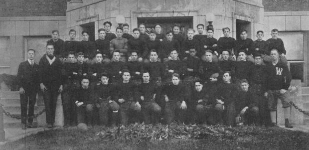 East High School, Aurora, IL 1919 Football Team