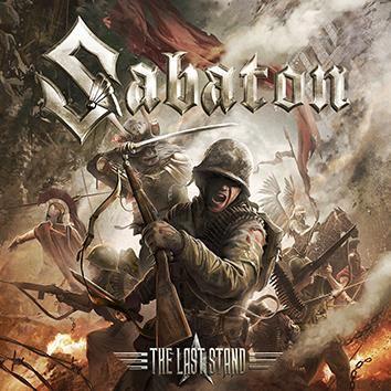 """L'album dei #Sabaton intitolato """"The Last Stand"""" in formato jewelcase."""