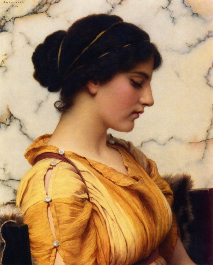 Sabinella. John William Godward. 1912.