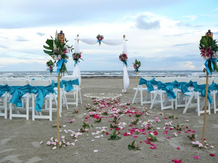 Beach Wedding By Baroque Events Galveston. Www