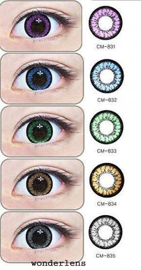 circle lenses, coloured contacts, circle lens, big eye contacts. Korean pretty lenses from EyeCandy's