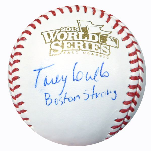"Torey Lovullo Autographed Official 2013 World Series Baseball Red Sox """"Boston Strong"""" PSA/DNA #AC23194"