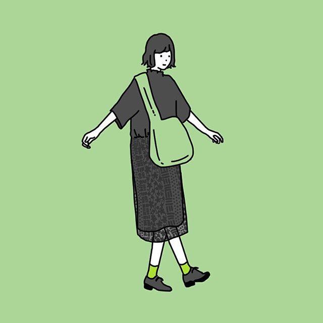 デザフェス終了しました! . フォロワーさんにお会いできて本当に嬉しかったです! ありがとうございました!! ずっとお会いしたかった方にも会えてとても楽しかった2日間でした☺︎ . シルクスクリーンが楽しかったからいつかイラストでも何か作ってみたいけど何が良いんだろう… . #illust #illustration #illustrator #fashion #fashionillustration #simple #drawing #ファッションイラスト #イラスト #イラストレーション #おえかき #ファッション #シンプルコーデ #designfesta #デザフェス