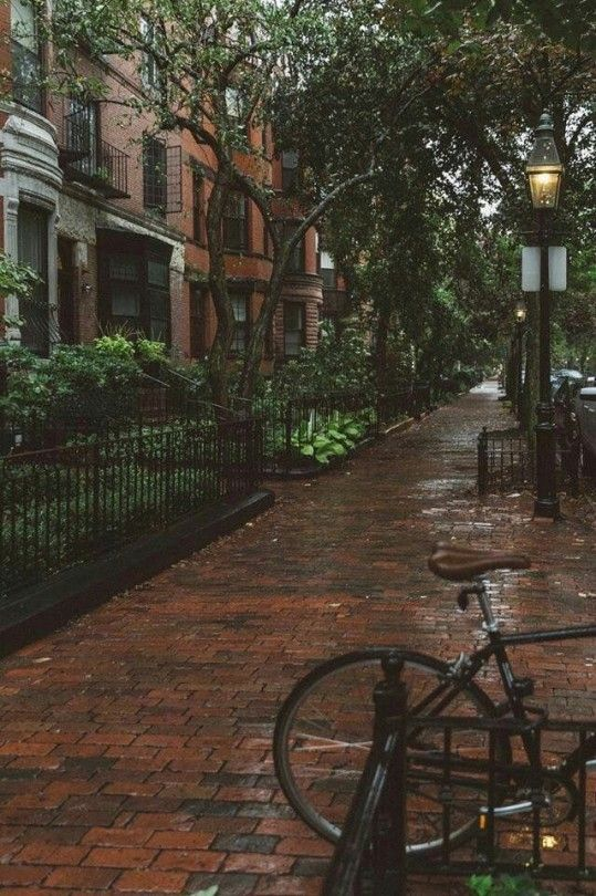 CALM my SOUL – Boston in Rain – #Boston #Calm #rai…