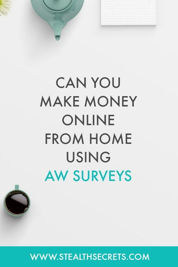 A.W. Surveys Review A Total Scam – Making Easy Money