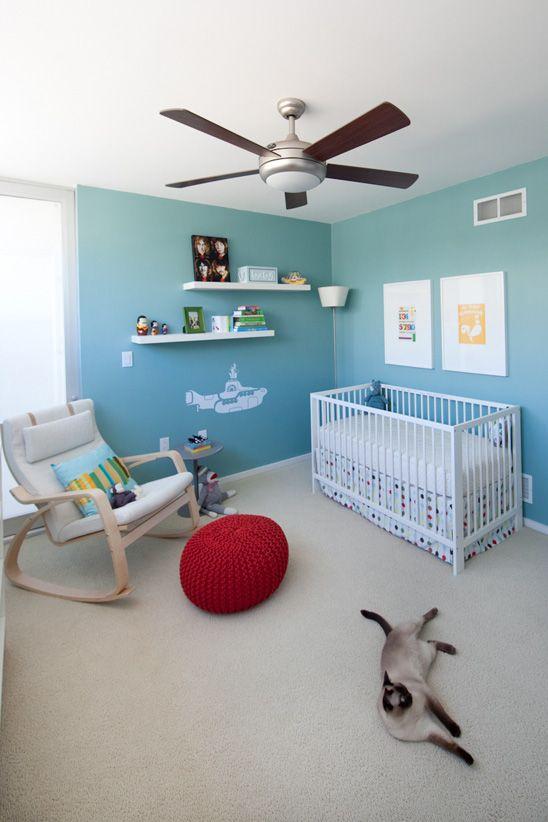 decoracao quarto bebe beatles