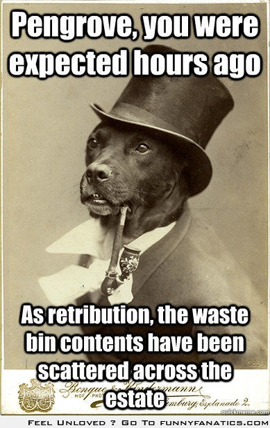 The greatest old meme of them all - Old Money Dog @Margaret Lowman