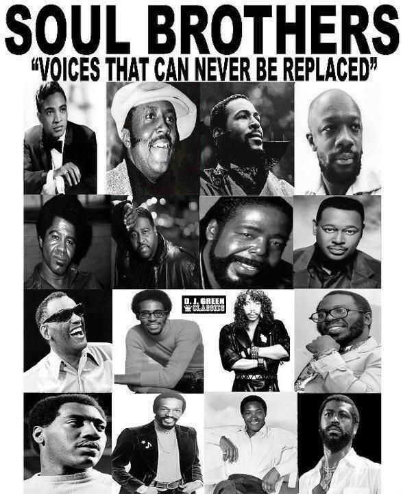Soul music fills my soul, they said what they had to say...... They sang from the heart.