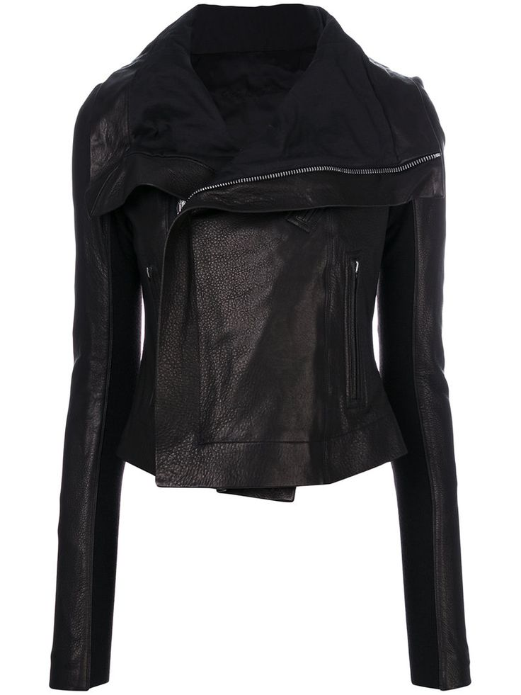 ¡Cómpralo ya!. Rick Owens - Classic Biker Jacket - Women - Lamb Skin - 40. Black lambskin classic biker jacket from Rick Owens featuring a foldover neck, a concealed zip fastening, front zipped pockets and long sleeves. Size: 40. Gender: Female. Material: Lamb Skin. , chaquetadecuero, polipiel, biker, ante, antelina, chupa, decuero, leather, suede, suedette, fauxleather, chaquetadecuero, lederjacke, chaquetadecuero, vesteencuir, giaccaincuio, piel. Chaqueta de cuero  de mujer color negro…