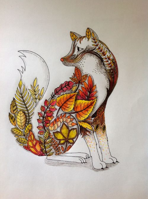 63 best Coloring fox images on Pinterest Adult coloring, Coloring - best of coloring page of a red fox
