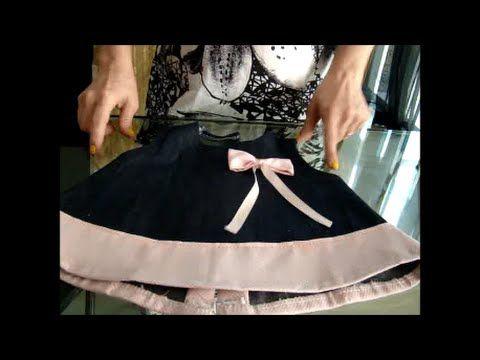Como fazer vestido para bebê passo a passo