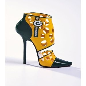 They aren't real shoes, but rather fashion for your bar.  Fill with straws?