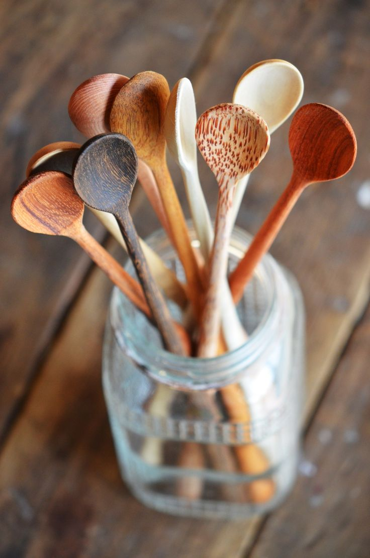 Oh yes, the Plastic-Free Tuesday team ♥ some good wooden spoons! #plasticfreetuesday.com
