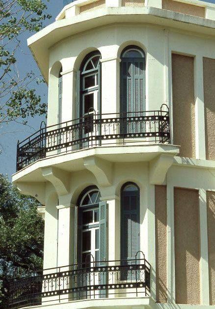 Vintage design details exuding an aristocratic, old-age charm. Kefalari Suites!  #vintage #architecture #hotel #Athens #Greece