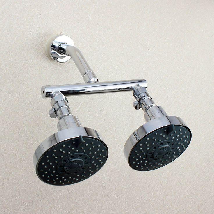 Afbeeldingsresultaat voor dubbele douche koppen