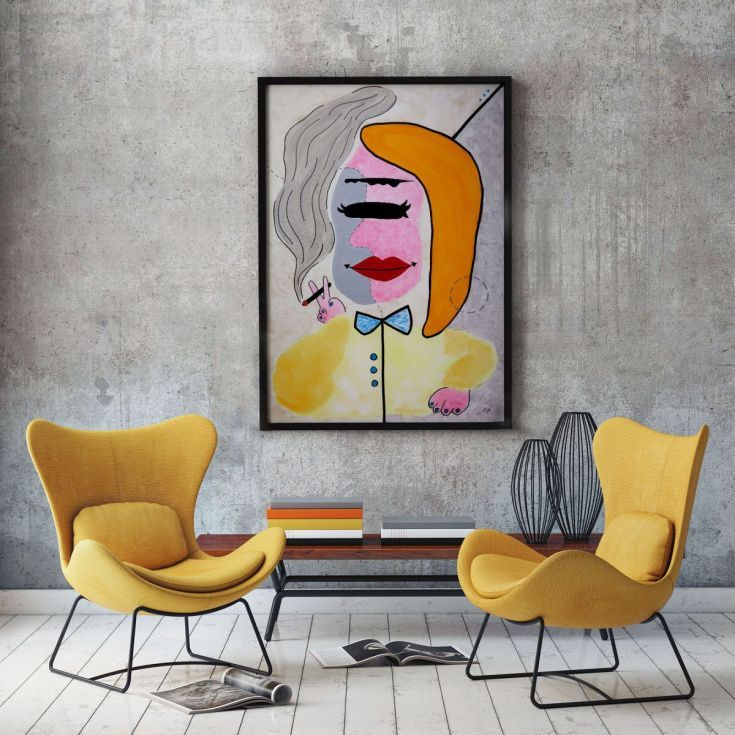 Buy La Catira, Acrylic painting by Ninah Mars on Artfinder. #art #buyart #homedecor #interiordesign #abstract #painting #abstractpainting #artfinder #arte #contemporaryart
