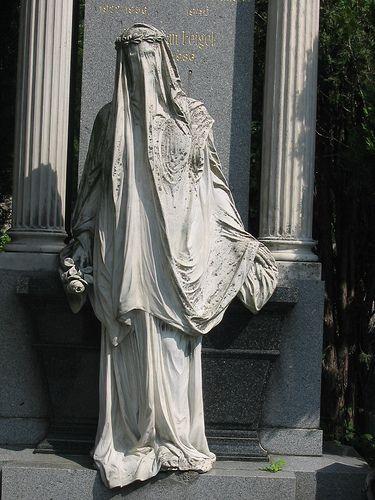 Anjo da Morte, principal cemitério de Viena , na Áustria